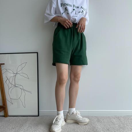 《予約販売》sweat daily half pants/5colors_np0410