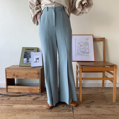 《予約販売》tuck long pants/2colors_np0159