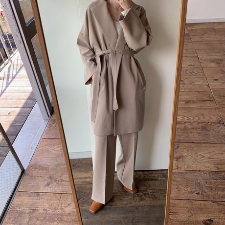 【NOKCHA original】2way quality over jacket/beige_no0083