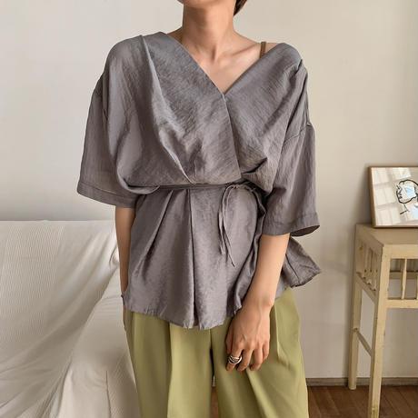 《予約販売》cache-coeur blouse/2colors_nt0446