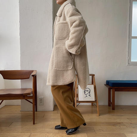 《予約販売》poket fur mustang jacket/2colors_no0118