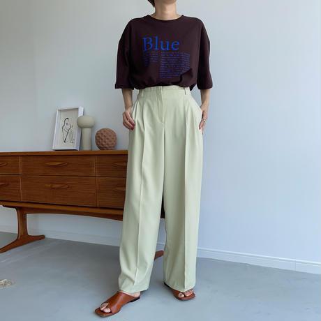 《予約販売》obi wide pants/2colors_np0406