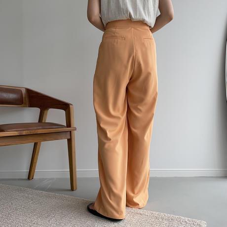 《予約販売》material toromi pants/3colors_np0431