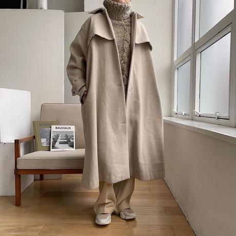 《予約販売》2way over flare coat/2colors_no0119