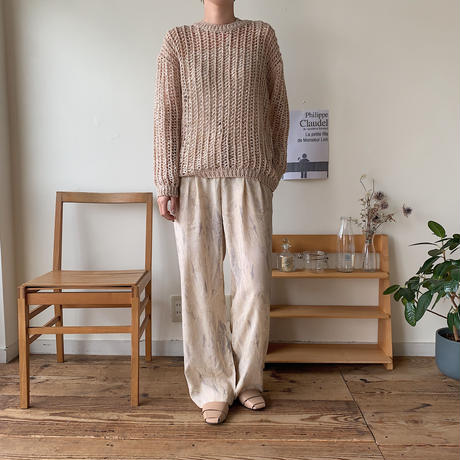 《予約販売》low gage s/s knit_nt0390