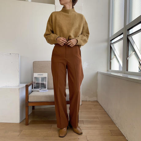 《予約販売》thin cable knit/3colors_nt0751
