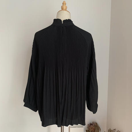 《予約販売》pleats raglan blouse/2colors_nt0561
