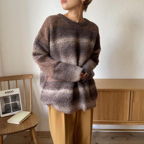 《予約販売》gradation knit_nt0734
