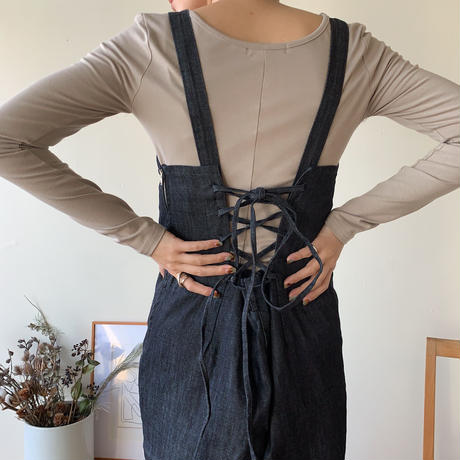《予約販売》denim all-in-one_np0160