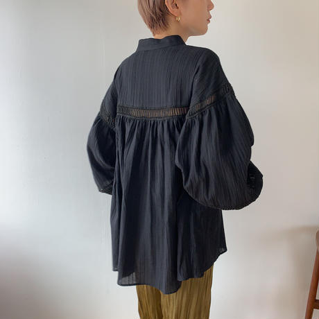 《予約販売》puff feminine blouse/2colors_nt0568