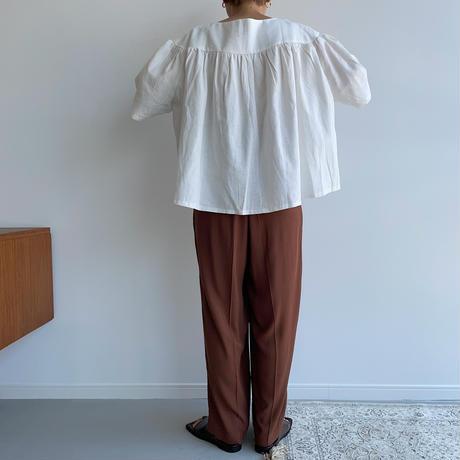 《予約販売》flare blouse/2colors_nt0974