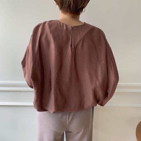 silky gather blouse/2 olors_nt0134