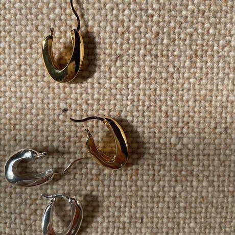 《予約販売》silver925 drop pierce/2colors_na0235