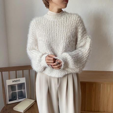 《予約販売》low gage lady knit/2colors_nt0731