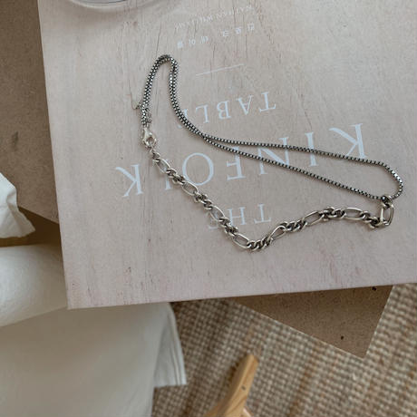 *予約販売*silver925 detail chain necklace_na0038