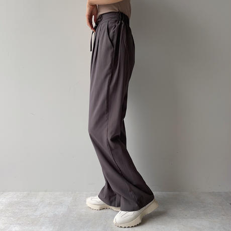 《予約販売》string pants/2colors_np0369