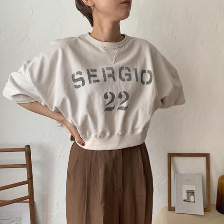 《予約販売》logo sweat tee/2colors_nt0434