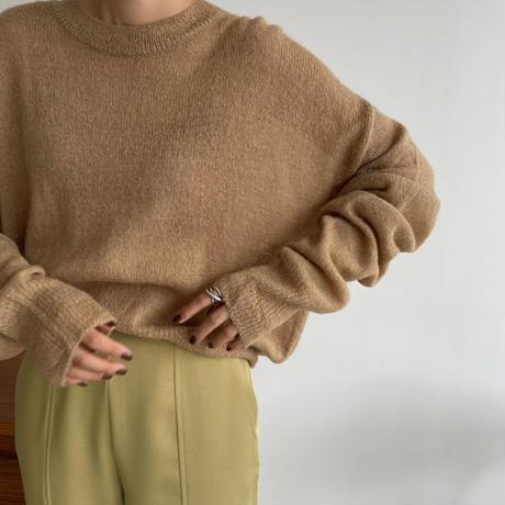 《予約販売》2way lady alpaca knit/2colors_nt1062