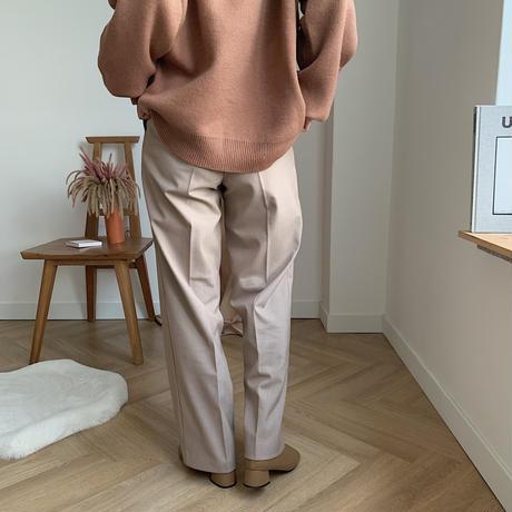 ✳︎予約販売✳︎straight daily pants/2colors_np0085