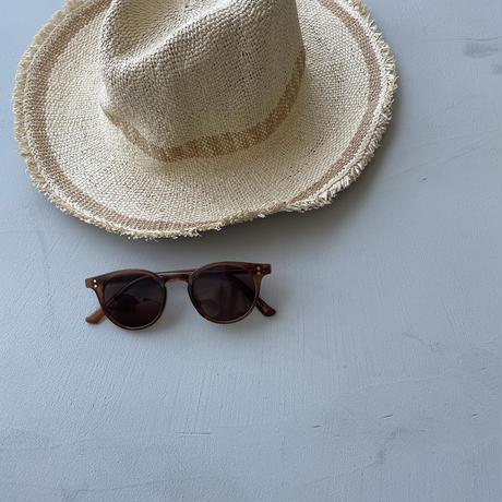 《予約販売》boston glossy sunglasses/2colors_na0289
