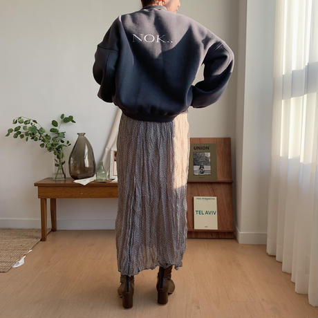 ✳︎予約販売✳︎dot sheer skirt/2colors_ns0027