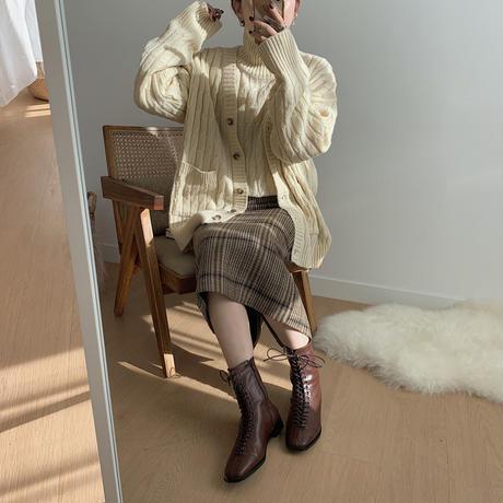 ✳︎予約販売✳︎2piece cable knit/2colors_nt0183