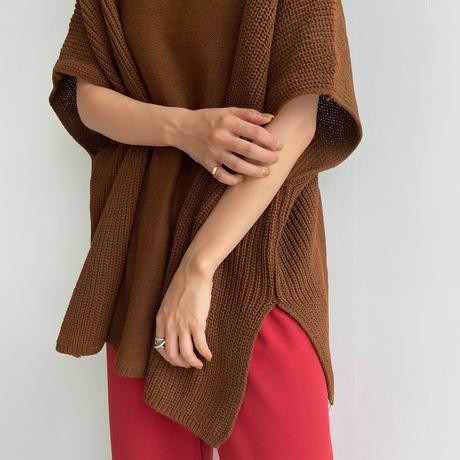 《予約販売》detail over knit vest_nt1055