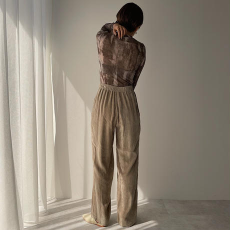 【nokcha original】mosaic sheer tops_nt0879