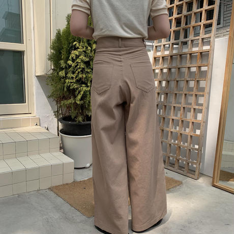 ✳︎予約販売✳︎ tuck chino PT/2colors