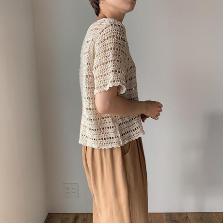 《予約販売》crochet knit cardigan_nt0498