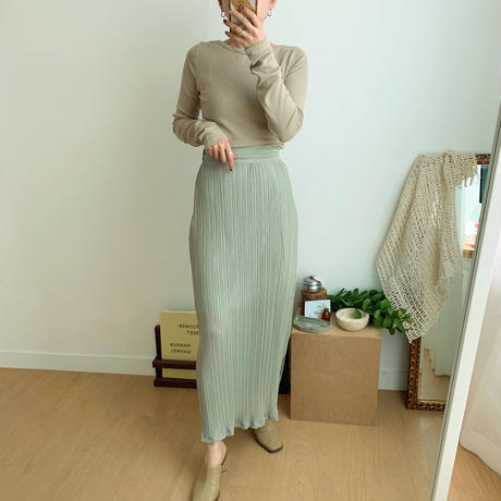 《予約販売》green tee skirt_ns0034