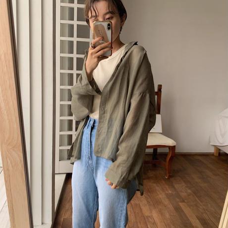 《予約販売》summer  simpliy shirt/3colors_nt0471