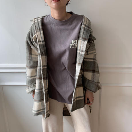 ✳︎予約販売✳︎casual check shirt/2colors_nb0041