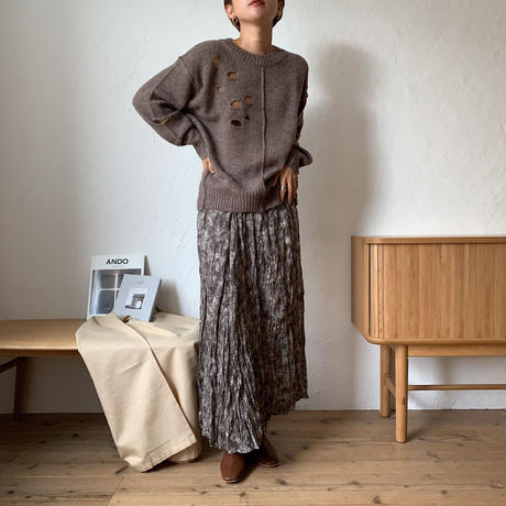 《予約販売》hall knit/2colors_nt0606