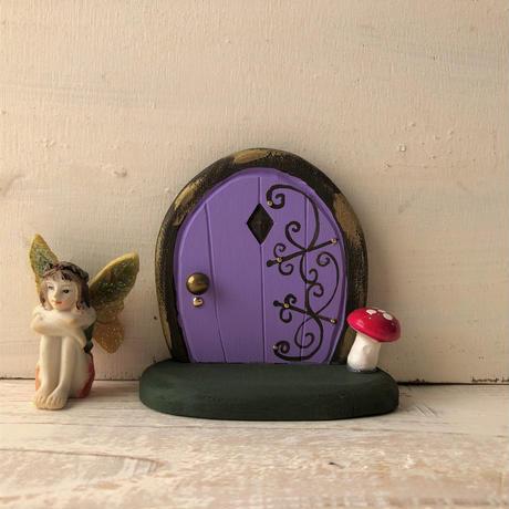 ミニミニドア・むらさき色の森の扉2