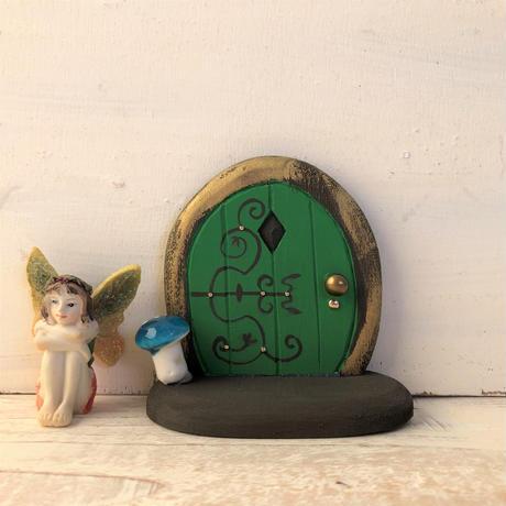 ミニミニドア・フェアリーフォレストのみどり色の扉  2