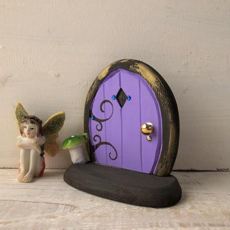 ミニミニドア・むらさき色の森の扉1