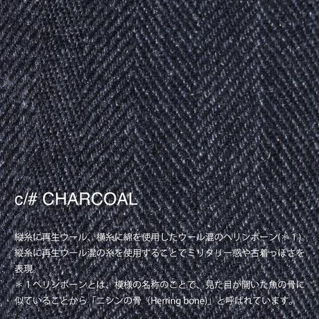 STEREOGRAM GURKHA 【NOL202503W】 WOMAN c/#CHACOAL