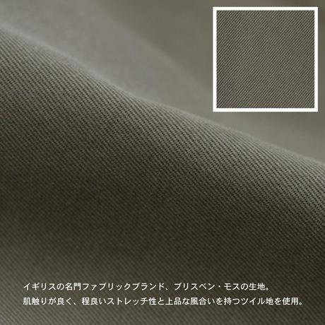 TWILL COVERALL c/#KHAKI [NOL201302]