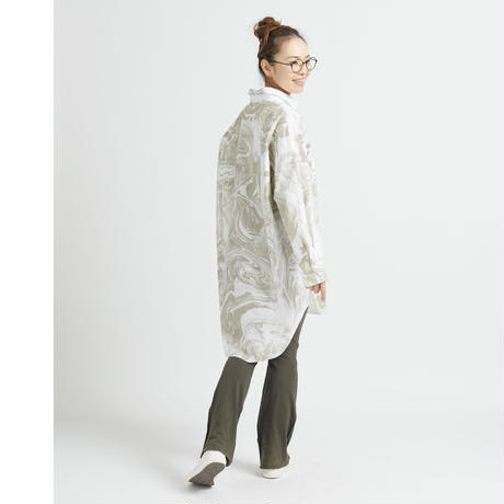 WHIRLPOOL LONG SHIRT c/#KHAKI [NOL202406]