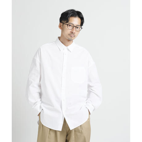 WHITE BIG SHIRT c/#WHITE[NOL202402]