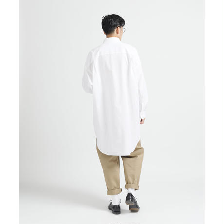 WHITE LONG SHIRT c/#WHITE[NOL202403]