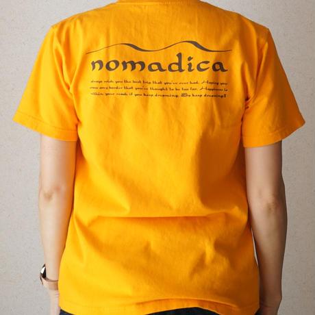 nomadicaロゴT ゴールドイエロー