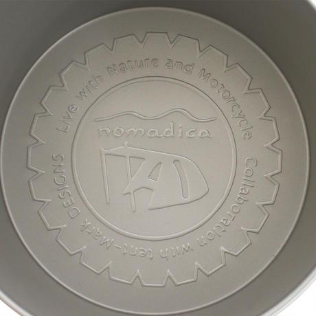 【tent-Mark DESIGNS × nomadica】チタンシェラカップ深型350フォールディングハンドル