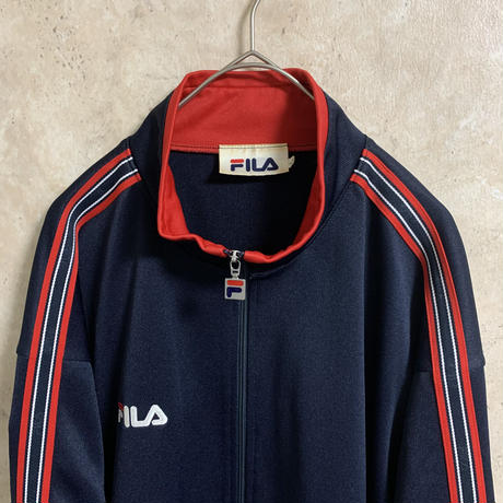 【FILA】トラックジャケット【L】【メンズ古着】【used】【vintage】