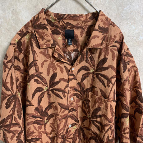 【H&M】アロハシャツ【XL】【S/S】【メンズ古着】【used】【vintage】