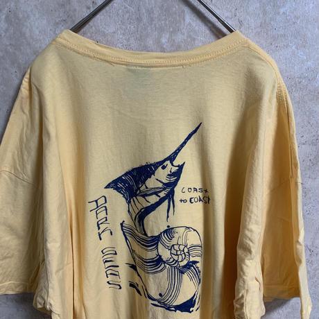 【DARK SEAS】プリントTシャツ【XXL】【メンズ古着】【used】【vintage】