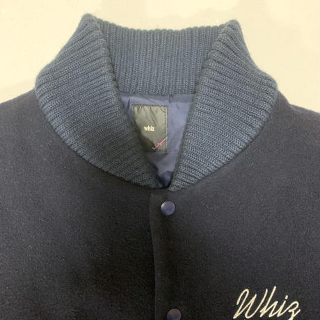 【whiz】デザインスタジャン【XL】【MADE IN JAPAN】【ドメスティックブランド】【メンズ古着】【used】【vintage】【whiz limited】
