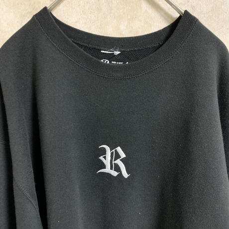 【RUGGED】刺繍スウェット【XXL】【高円寺】【メンズ古着】【used】【vintage】