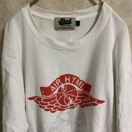 【HTML】プリントTシャツ【L】【AIR】【メンズ古着】【used】【vintage】